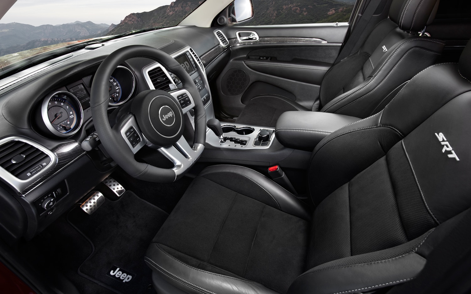 2012 Jeep Grand Cherokee SRT8 Front Seating