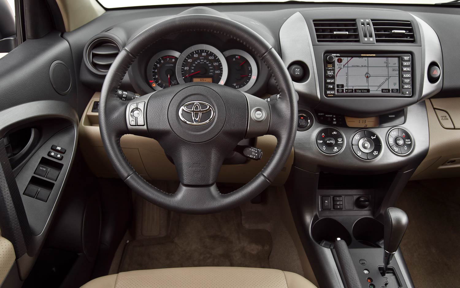 2011 Toyota Rav4 Limited V 6 Dash