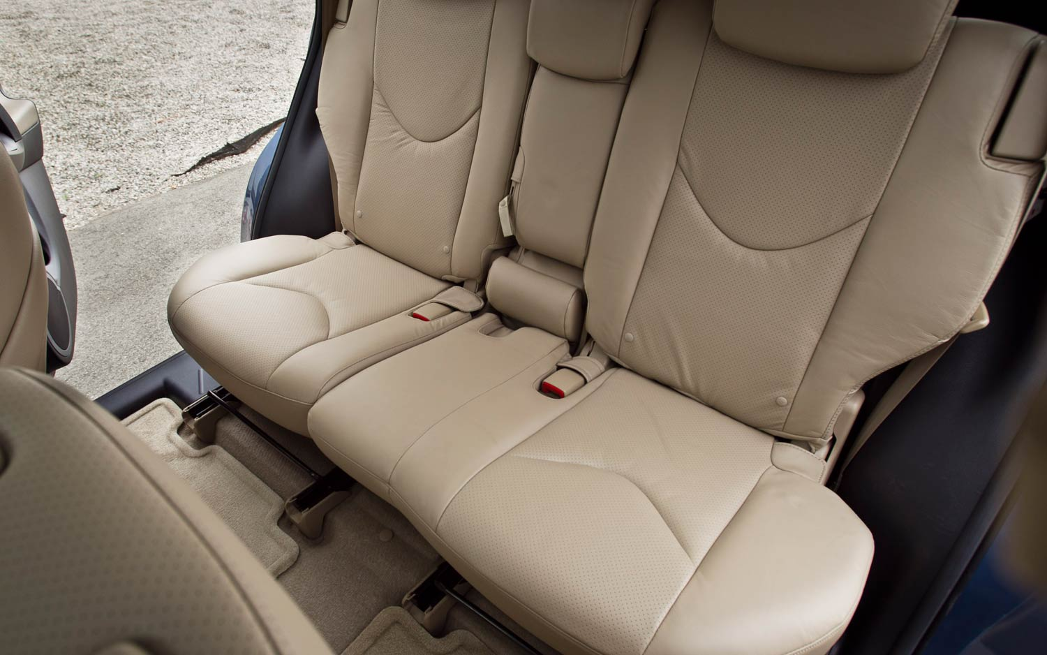 2011 Toyota Rav4 Limited V 6 Back Seats