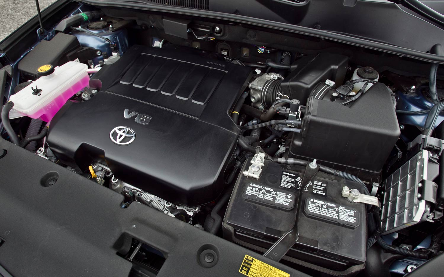 2011 Toyota Rav4 Limited V 6 Engine View