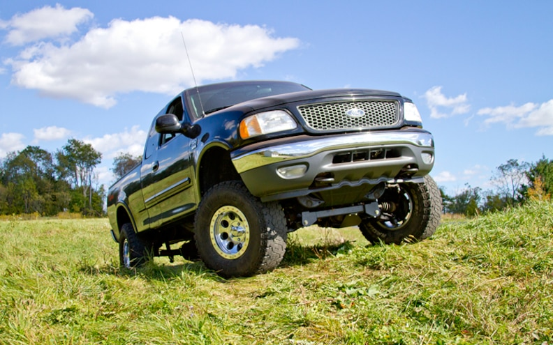 Zone Offroad Products 6-Inch Lift Kit for 1997-2003 Ford F