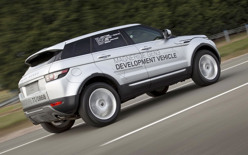 Range Rover Evoque will Offer Latest Version of MagneRide Optional