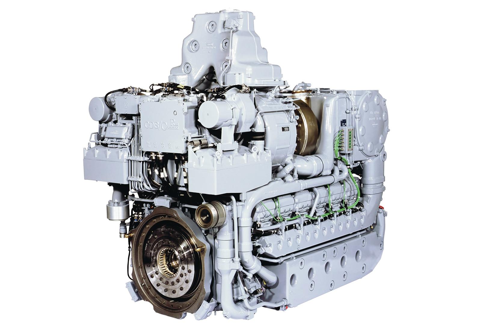 Expeditionary Fighting Vehicle - MTU MT883 Diesel Engine