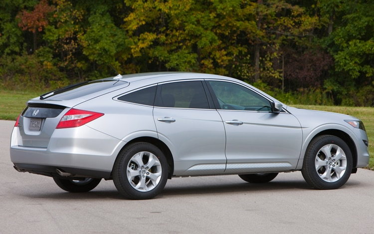 2011 Honda Accord Crosstour Rear Three Quarter Passengers Side View