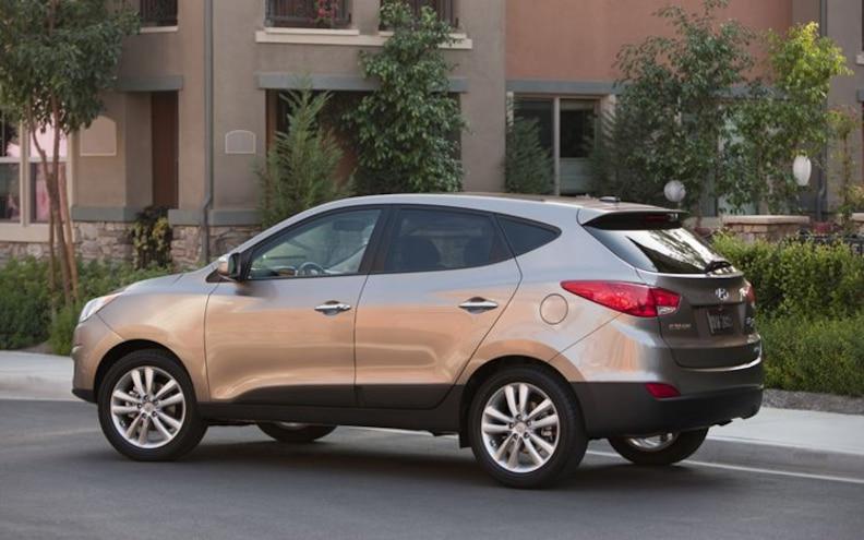 First Look: 2010 Hyundai Tucson