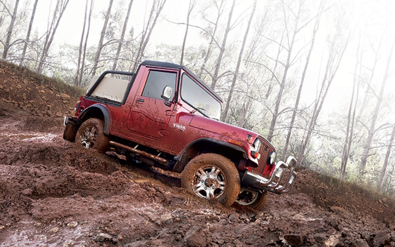 New Mahindra Thar for Indian Market Channels Original Jeep Spirit