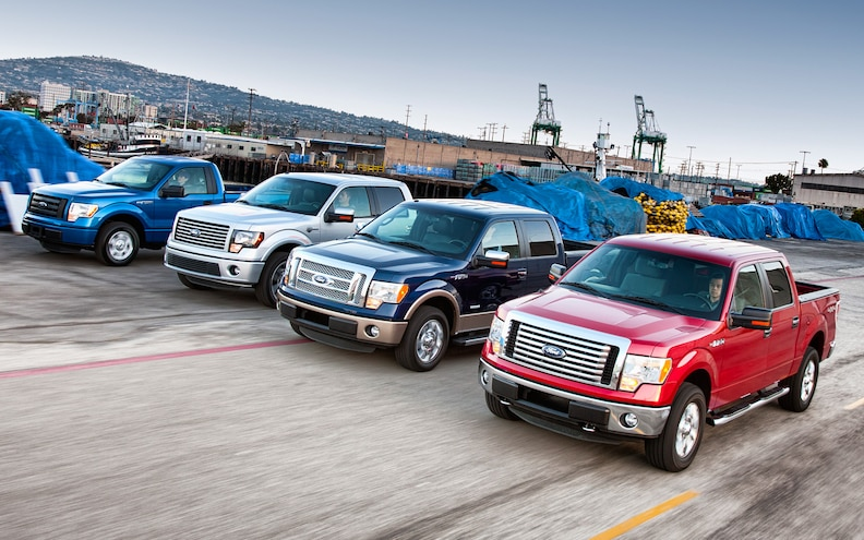2011 Ford F-150 Comparison: V-6 vs V-8