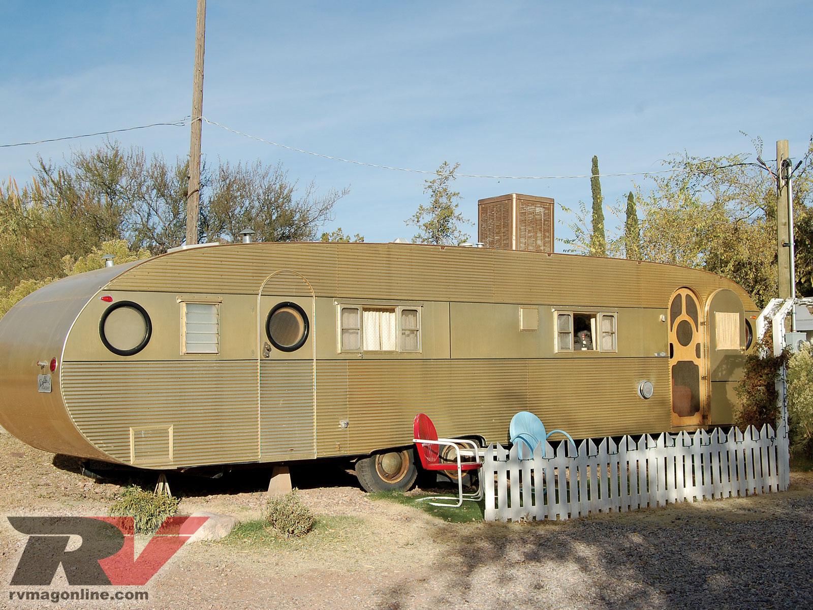 Vintage Trailer Resort >> Shady Dell Vintage Trailer Resort Time Warp Photo Image