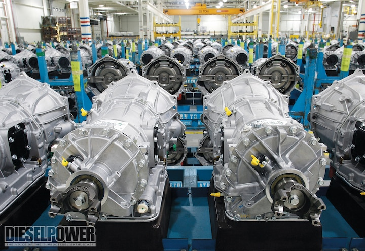 Allison 1000 Transmission GM Diesel Trucks Diesel Power