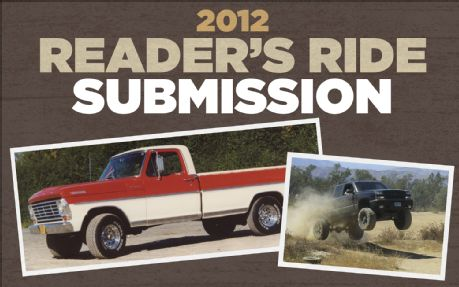 Readers' Rides Showcase 2012: It's Time To Show Off!