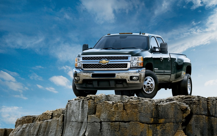 2011 Chevrolet Silverado Heavy Duty Front View Static