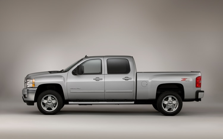 2011 Chevrolet Silverado Heavy Duty Side View Static