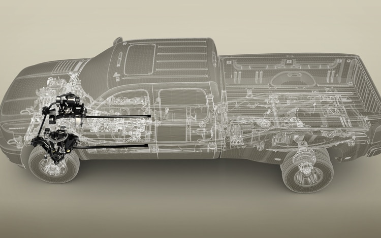 2011 Chevrolet Silverado Heavy Duty Suspension