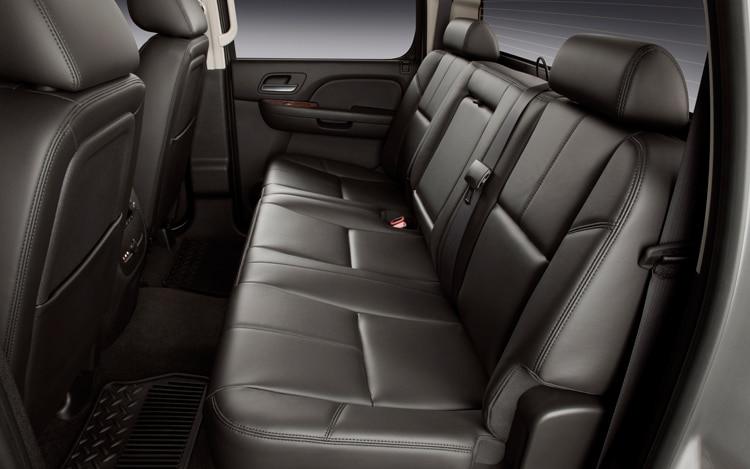 2011 Chevrolet Silverado Heavy Duty Back Seats