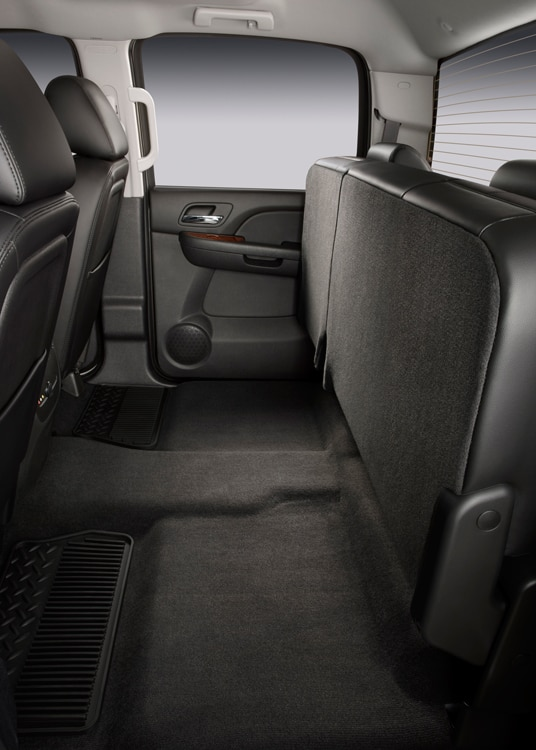 2011 Chevrolet Silverado Heavy Duty Back Seats Folded