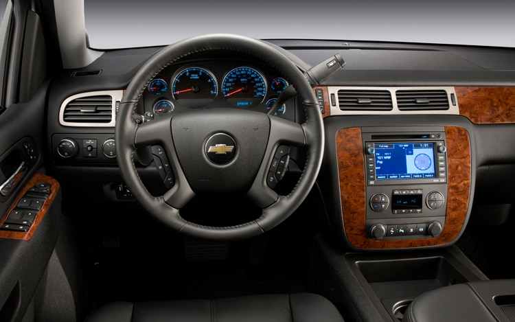 2011 Chevrolet Silverado Heavy Duty Cockpit