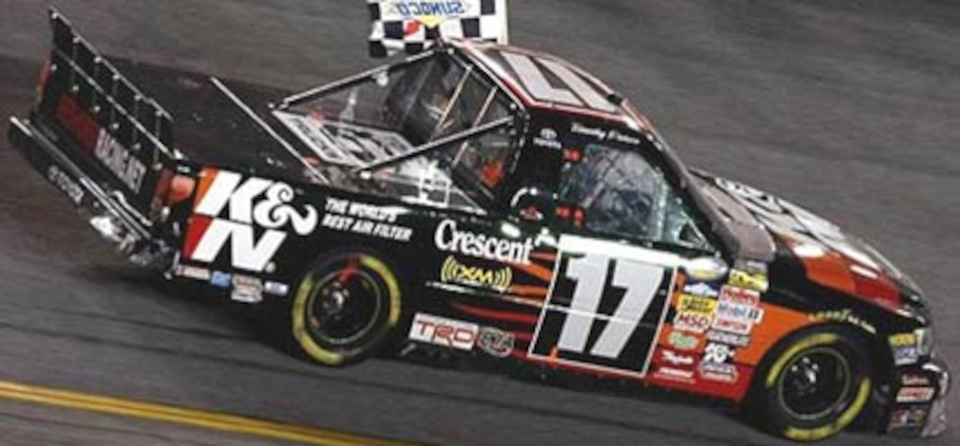 Timothy Peters Wins Season-Opening NASCAR Truck Race in