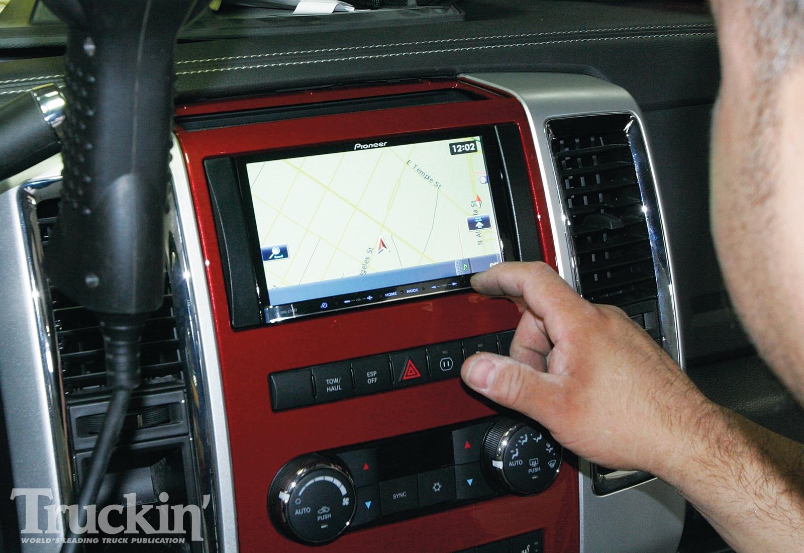 2009 Dodge Ram Audio Upgrades - Pioneer In-Dash Navigation
