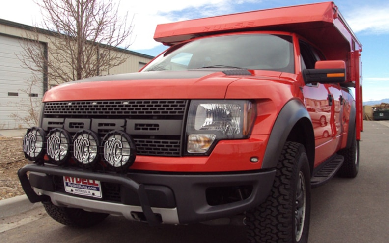 Phoenix Campers Builds Custom Camper for Ford F-150 SVT