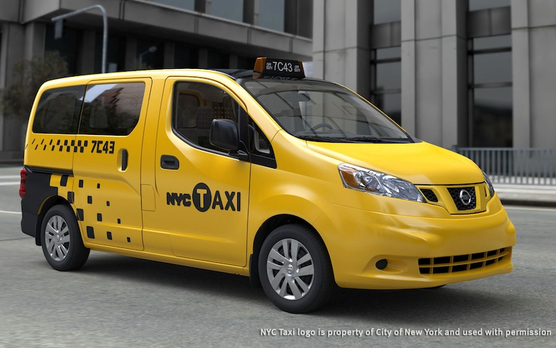 New York Picks Nissan NV200 as Taxi of Tomorrow