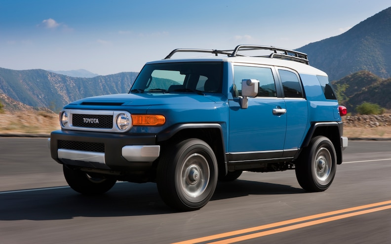 Pre Owned: 2007-2012 Toyota FJ Cruiser