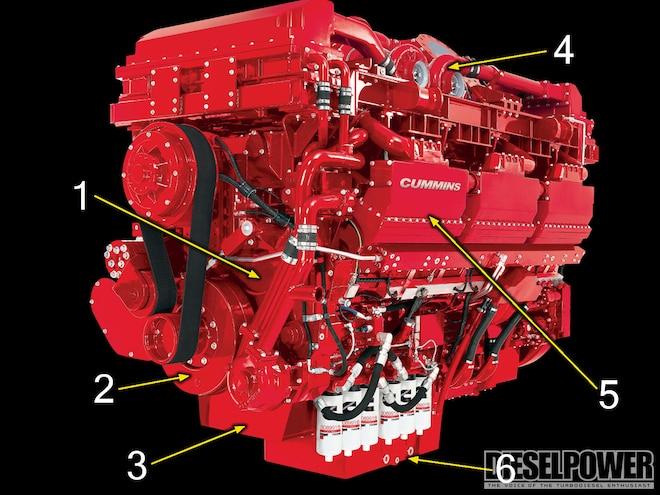 diesel Power 78 Colossal Cummins engine