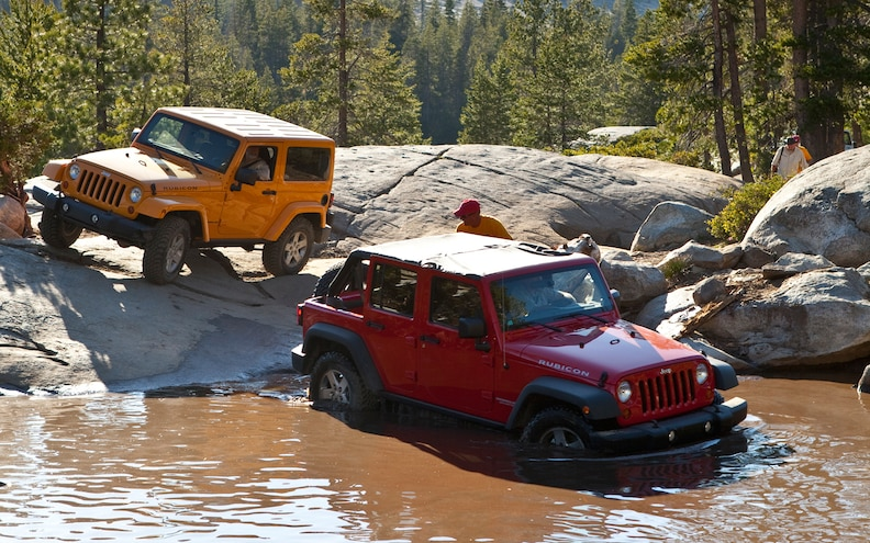 First Drive: 2012 Jeep Wrangler