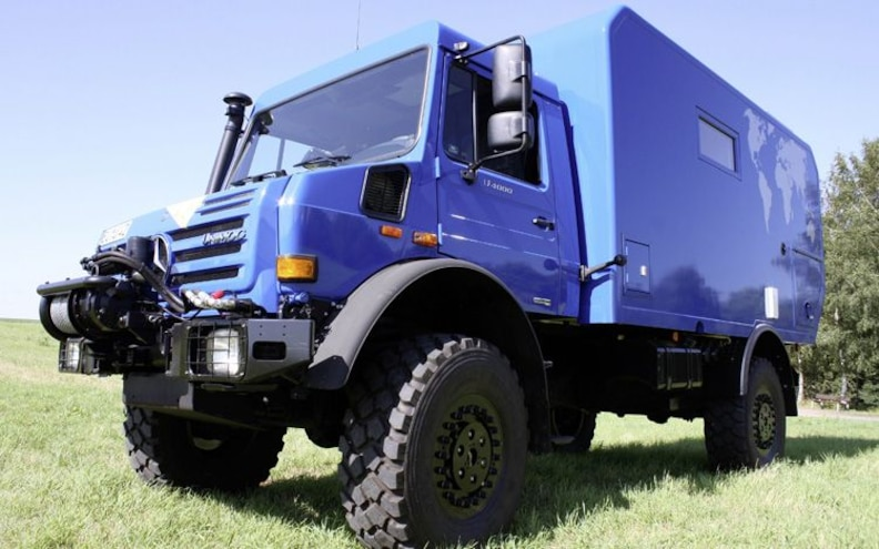 Maxi-'Mog: Is this Mercedes-Benz Unimog Camper the Ultimate