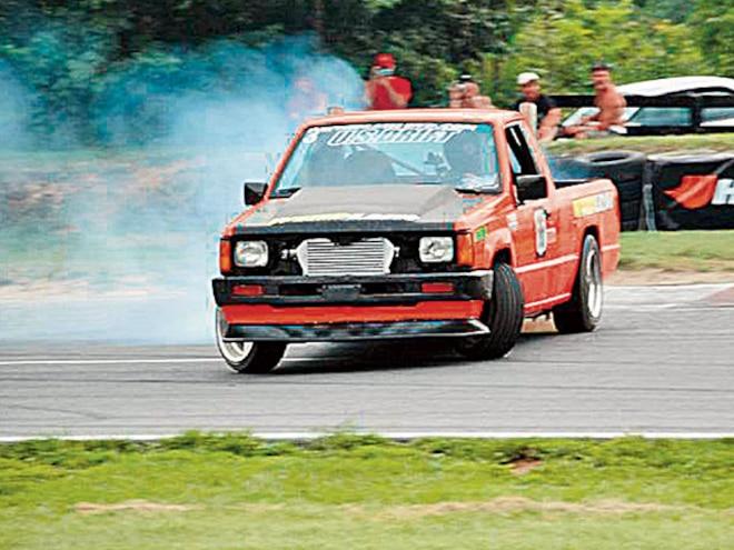 1992 Dodge D50 4g63 Turbo Engine drifting