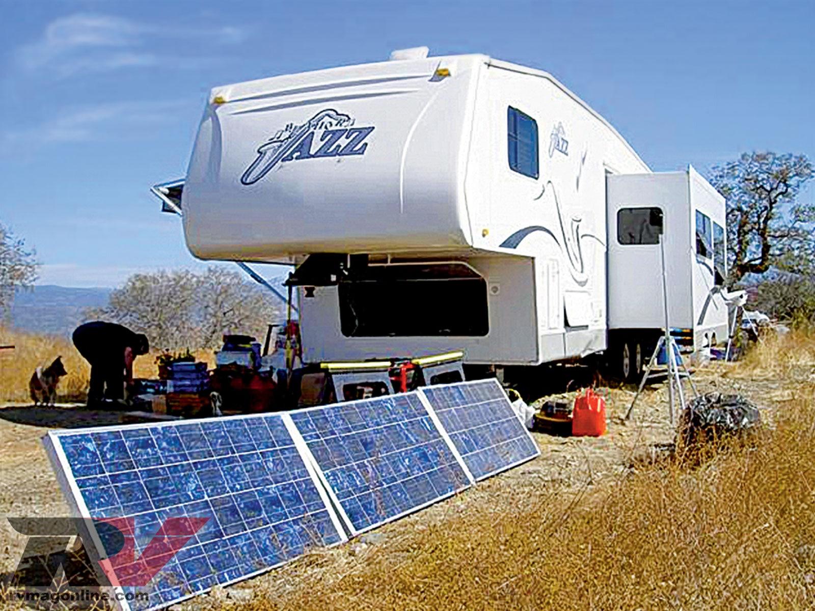 Solar Electrical Backup Solar Panels Off The Grid Rv Magazine