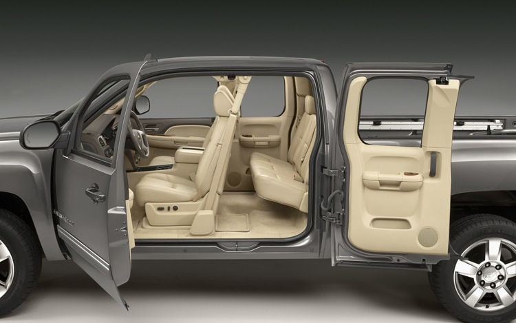 2011 Chevrolet Silverado 1500 Extended Cab Side Interior View