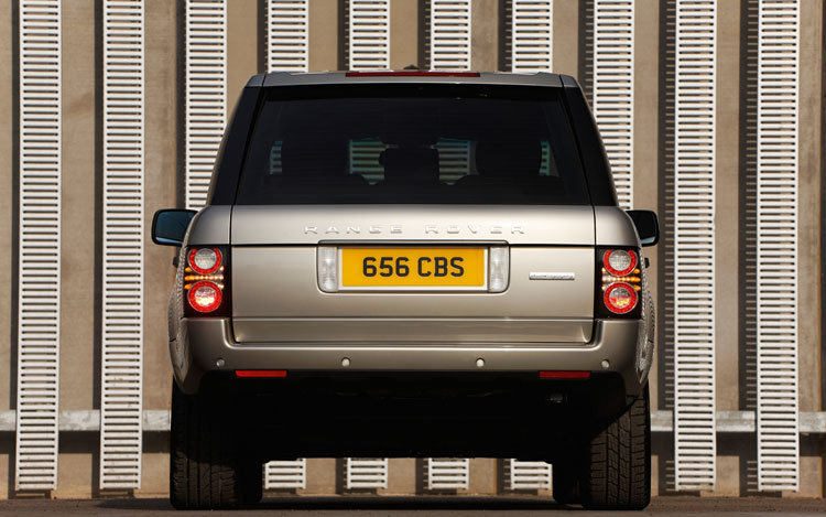 2010 Land Rover Range Rover Supercharged Rear
