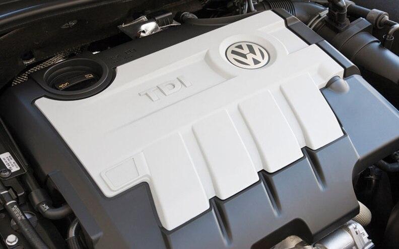 2010 Volkswagen Golf TDI Engine