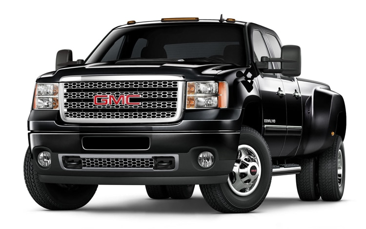 2011 GMC Sierra Denali 3500HD Front Three Quarters