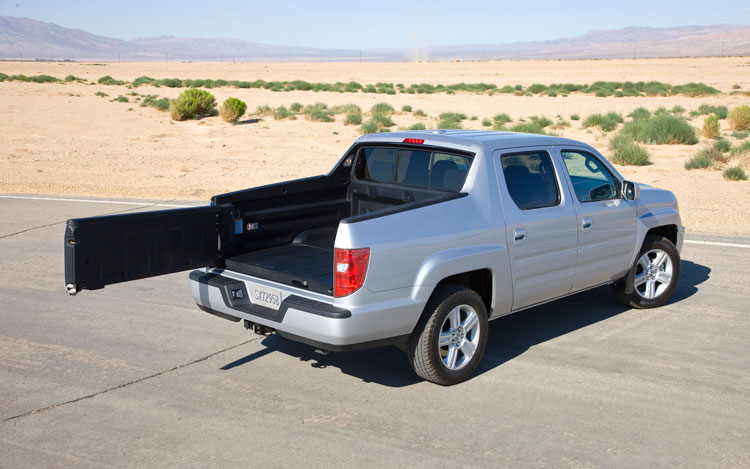 2011 Honda Ridgeline Rear Open 2