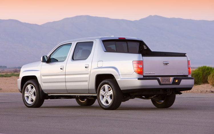 2011 Honda Ridgeline Rear Three Quarters