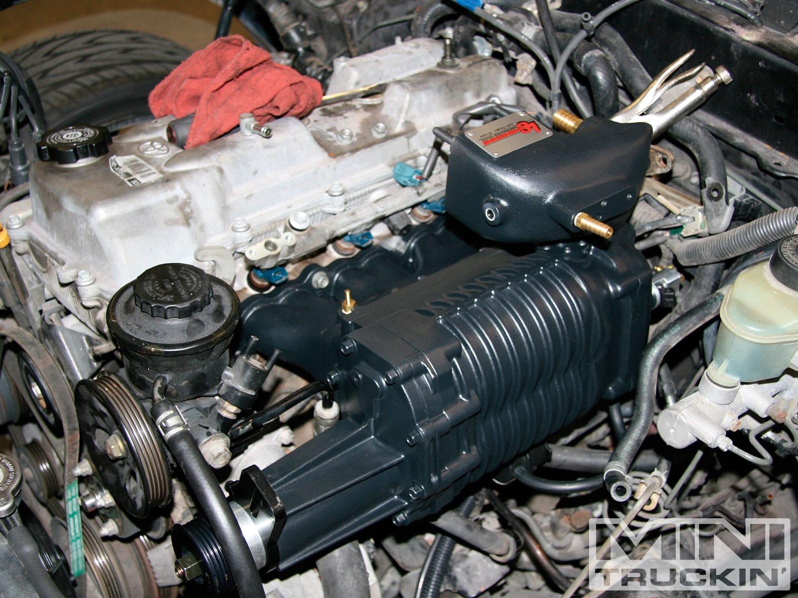 Toyota Tacoma 2rz Lc Engineering Supercharger Mini Truckin