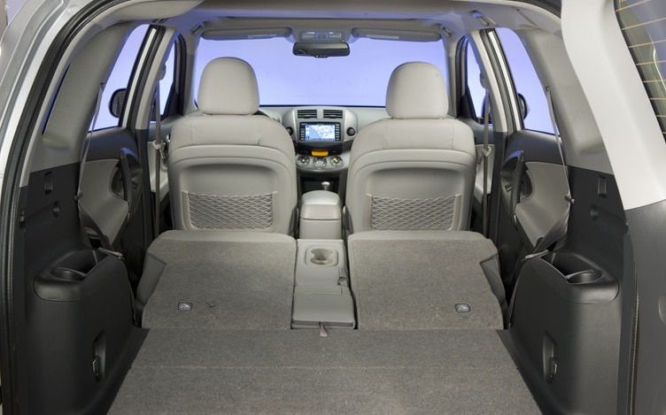 2011 Toyota RAV4 Limited All Back Seats Down