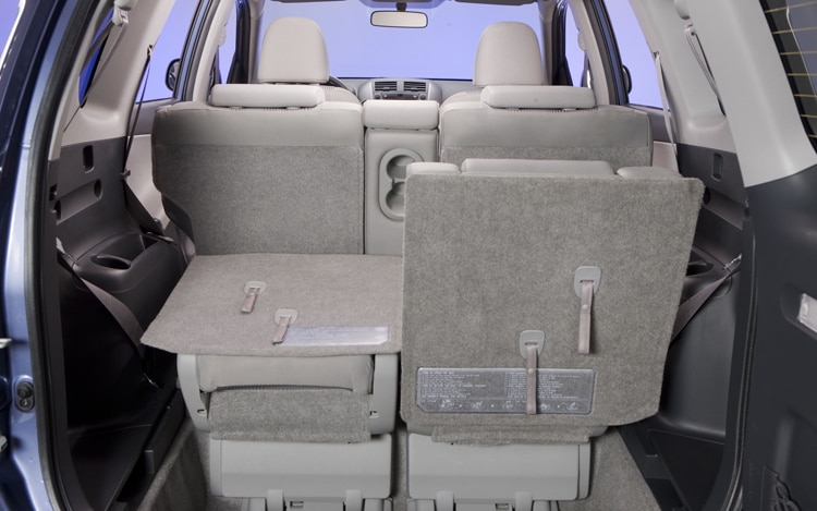 2011 Toyota RAV4 Limited Back Seat View
