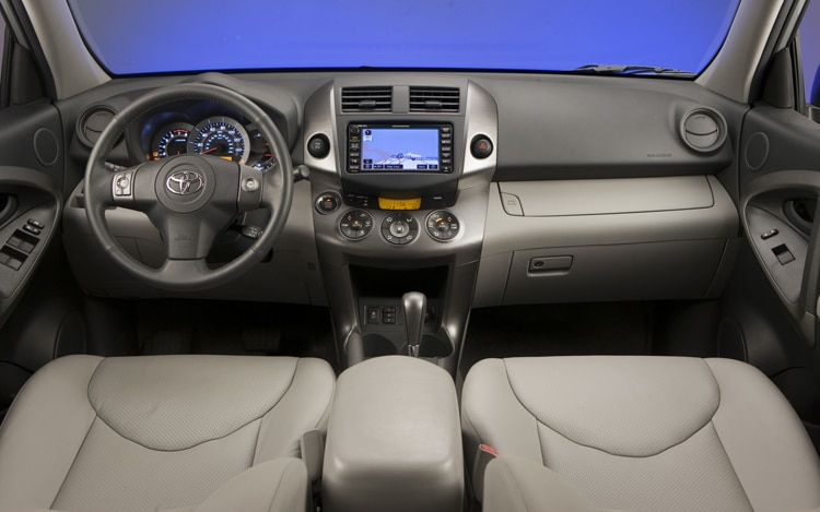 2011 Toyota RAV4 Limited Dash