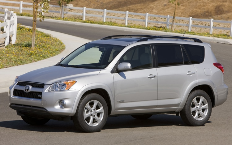 2011 Toyota RAV4 Limited Driving