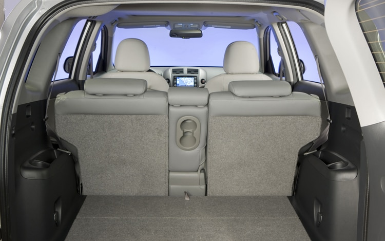 2011 Toyota RAV4 Limited Second Row Back Seats
