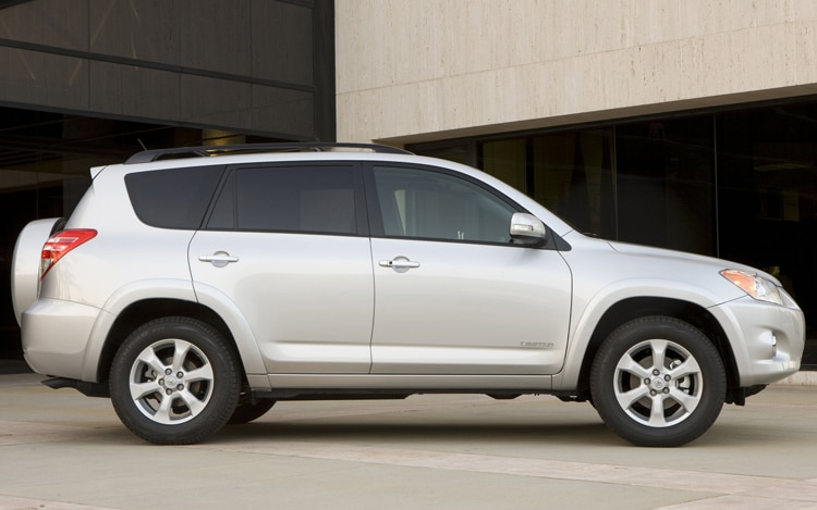 2011 Toyota RAV4 Limited Side Profile