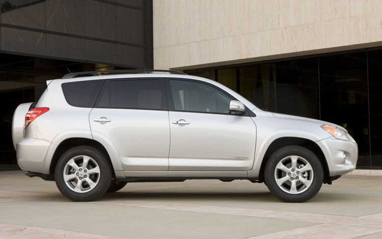 2011 Toyota RAV4 Limited Side View
