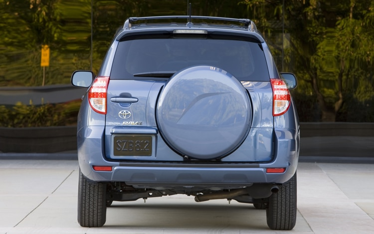2011 Toyota RAV4 Base Rear Profile