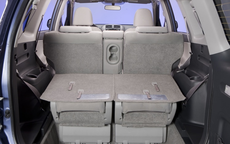 2011 Toyota RAV4 Limited Back Seats