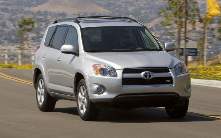 2011 Toyota RAV4 Limited Front View In Motion