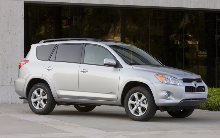 2011 Toyota RAV4 Limited Passengers Side Front View