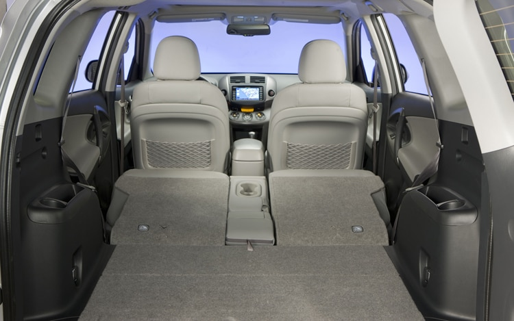 2011 Toyota RAV4 Limited Rear Interior
