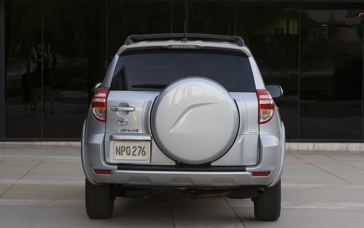 2011 Toyota RAV4 Limited Rear Profile